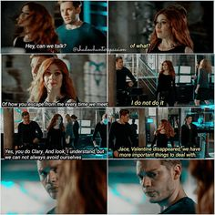 """#Shadowhunters 2x16 """"Day of Atonement""""  - Clary and Jace"""