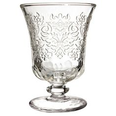 @Overstock.com - La Rochere 'Amboise' 9.5-ounce Goblet Glasses (Set of 6) - Made only in France, this set of six Amboise 9.5-ounce goblet glasses bring a unique flair and elegance. Featuring a 15th century Venetian-inspired design, these are a great choice for a casual get-together, or a formal dinner event.  http://www.overstock.com/Home-Garden/La-Rochere-Amboise-9.5-ounce-Goblet-Glasses-Set-of-6/8187736/product.html?CID=214117 $49.99