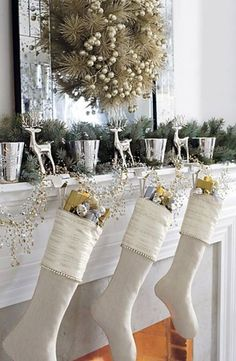 South Shore Decorating Blog: 30 Christmas Mantels