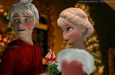 Find images and videos about love, frozen and kisses on We Heart It - the app to get lost in what you love. Jelsa, Disney Frozen Elsa, Disney Princess, Frozen Funny, Pixar, Jack Frost And Elsa, Modern Disney, Queen Elsa, The Big Four