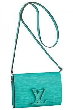 Louis Vuitton Turquoise Epi Louise PM Bag - Spring 2015