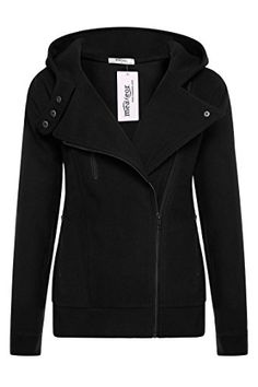 Meaneor Women's Slim Fit Long Sleeve Zip Up Hoodie Winter Jacket Coat Outwear *** You can find out more details at the link of the image.