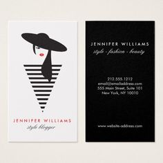 Fashion Stylist Business Card By Coolbusinesscards Easynip