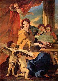 Nicolas Poussin Ste Cecile