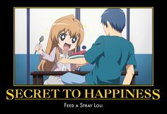 toradora funny | OHSHC and Toradora! motivational posters - anime Photo