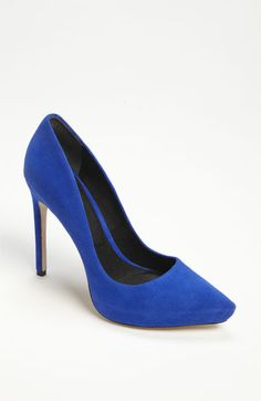 Rachel Roy 'Gardner' Suede pointy toe Pump available at #Nordstrom