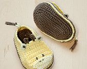 Giraffe Baby Booties Crochet PATTERN, SYMBOL DIAGRAM (pdf). $7.80, via Etsy.