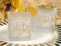 """Graceful Cherub"" gift box candle"