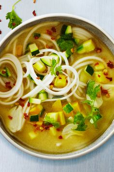 SPICY VEGETABLE NOODLE SOUP