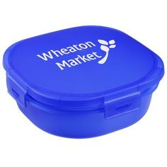 Imprint your logo on these custom translucent containers!