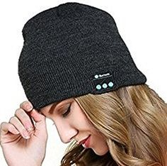 3999ba3ca4d6c Bluetooth beanie hat with inbuilt wireless earphones for men and for women  for hands free listening