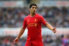 Suarez 8 goals in 6 EPL games