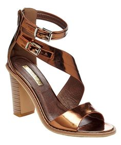 Look at this Bronze Goldie Sandal on #zulily today!
