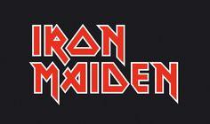 Iron Maiden logo - these guys stand the test of time. Iron Maiden Band, Metal Band Logos, Metal Bands, Pearl Jam, Rock Logos, Rockband Logos, Heavy Metal, We Do Logos, Branding Tools