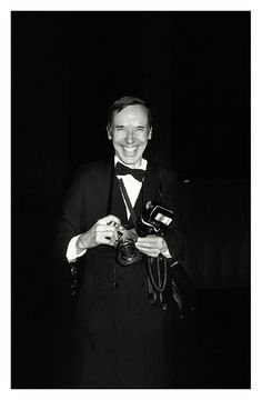 Bill Cunningham in New York, 1984. Photo: Roxanne Lowit.