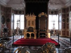 Rosenborg Castle, Copenhagen Picture: Royal thrones - Check out Tripadvisor members' candid photos and videos of Rosenborg Castle Royal Throne, Royal Palace, Palaces, Copenhagen, Denmark, Ham, Trip Advisor, Royalty, Castle
