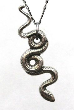 garden snake pendant necklace - white bronze   $55 - click on the photo for a direct link -  http://goreydetails.net/shop/index.php?main_page=product_info=41_48_id=873