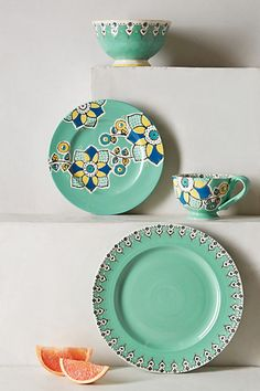 Elka Dinner Plate - anthropologie.com #anthrofave