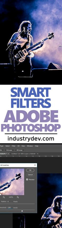 "Why Smart Filters are Important in Adobe Photoshop: I used to hate using creative filters in Adobe Photoshop because once applied, I was stuck with them. They were what we'd consider, ""destructive."" This means that they were impossible to delete, hide or edit. With the newer versions of Photoshop, this all changed. We now have something called Smart Filters that offer loads of options. No longer am I afraid to go near the Filter menu. Now, I filter at will and with the best of them."