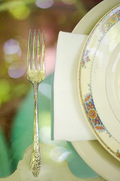 vintage flatware // Jove Meyer Events