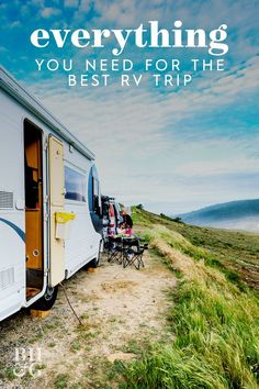 If you've taken travel lockdowns in stride and have shifted your summer vacation plans to a road trip — an RV trip, to be more specific — you've likely gathered quite a lengthy checklist of trip preparations. We decided to ask the experts about what items should be on every RV traveler's packing list. #rvpackinglist #howtopackforaroadtrip #campingpackinglist #rvroadtrip #bhg