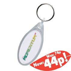 A massive price drop on our oval keyrings, with some quantities dropping as much as 30p! There's no better time to get them... http://www.promoparrot.com/keyring-oval-clear.html #promo #keyring #pricedrop