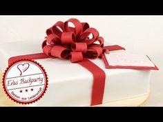 Geschenktorte mit Fondant – EvasBackparty
