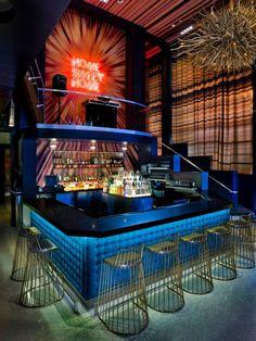 W San Diego - Die Bar im Wohnzimmer - Home Sweet Home - Pub Design, Lounge Design, Bar Lounge, Bar Interior Design, Hookah Lounge, Restaurant Interior Design, Sport Bar Design, Lounge Club, Bar Pub