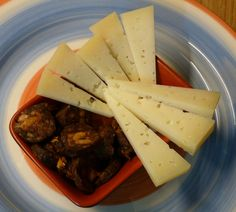 Morcilla and manchego is a great combination.