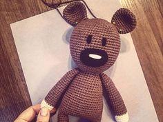 Amigurumi Crochet Patterns Teddy Bears : Mr bean s teddy bear amigurumi crochet pattern inspired by mr