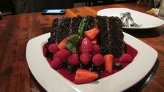Pf Chang's Great Wall Of Chocolate Cake Chocolate Walls, Chocolate Cake, Baking Cupcakes, Cupcake Cakes, Cake Recipes, Dessert Recipes, Yummy Recipes, Recipies, Sushi Roll Recipes