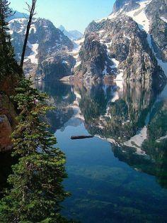 Goat Lake, Sawtooth National Recreation Area, Custer County, Idaho