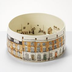Helen Beard, ceramic (could connect with history - present day versus past. Or present day versus future view)