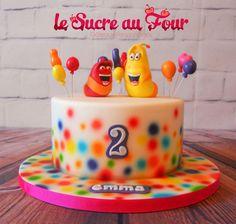 TV Show ''Larva'' cake
