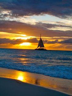 Sunrise &Sunset - Caribbean -An evening in Aruba www.facebook.com/loveswish