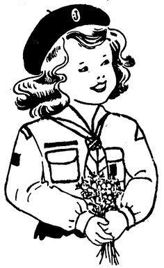 australian girl guide clip art - Google Search | Girl Guides Clip ...