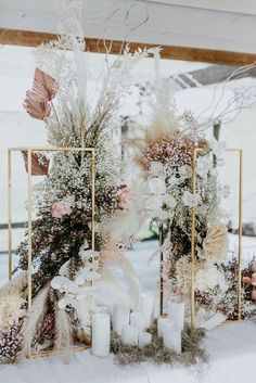 Use for your next event to boast your florals or as a stunning alter peice when grouped together. Chic Wedding, Wedding Trends, Wedding Designs, Elegant Wedding, Floral Wedding, Wedding Colors, Wedding Ceremony, Wedding Flowers, Dream Wedding