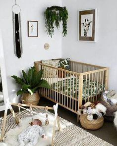 Bohemian Baby Room – Cassie Smagacz – Each of Us Has Different Needs … – Baby Ideas Baby Boy Nursery Room Ideas, Baby Bedroom, Baby Boy Rooms, Baby Room Decor, Nursery Themes, Baby Boy Nurseries, Baby Cribs, Girl Nursery, Kids Rooms