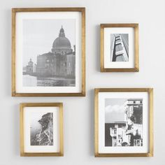 Antique Brass Metal Clad Frame | World Market