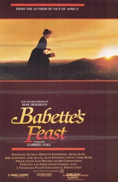 Babette's Feast 11x17 Movie Poster (1988)