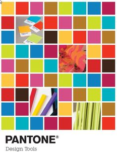Pantone product catalog cover.  Not sure what year these colors made the list; not very far from the ones selected for the Quirky board (except for the palest orange...)  It's all proportion.  Sherlock's using more magenta.