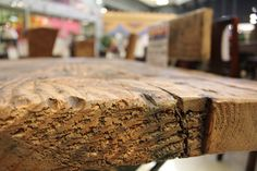 A rustic reclaimed wood table like this one will give your space much charm and character, as well as a comfortable place to fraternize and eat for years to come!   Houston TX   Gallery Furniture  