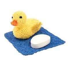 Free Crochet Scrubbie Duckie Pattern