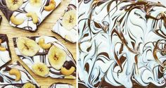 "Banana nut chocolate bark (""monkey nibbles""!)"