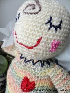 Desde o tempo da vovó...: Bernardo, o Bebezinho em crochê - Tutorial