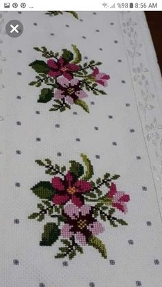 This post was discovered by Mu Cross Stitch Heart, Cross Stitch Borders, Cross Stitch Flowers, Cross Stitch Designs, Cross Stitching, Cross Stitch Patterns, Hand Embroidery Stitches, Cross Stitch Embroidery, Cushion Cover Designs