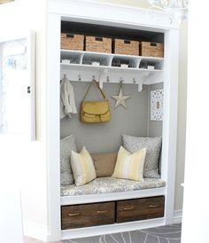 Cute closet nook!