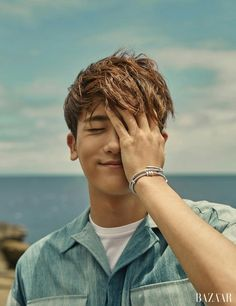 In the upcoming June issue of Harper's Bazaar Korea, Park Hyung Sik did an interview and a photoshoot. It happened right after jtBC's Strong Woman Do Bong Soon's reward vacation i… Korean Star, Korean Men, The Heirs, Strong Girls, Strong Women, Asian Actors, Korean Actors, Park Hyungsik Strong Woman, Kpop