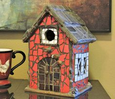 Check out this item in my Etsy shop https://www.etsy.com/listing/291331437/red-barn-birdhouse