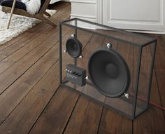 Investing in a pair of speakers isn't just about sound, it's also about how the system complements your entertainment set up. With a transparent speaker, you'll never have to worry about it fitting in. People People, a Swedish design firm, has created Speaker (the name, like the product, is clearly an understatement). Here's People People's [...]